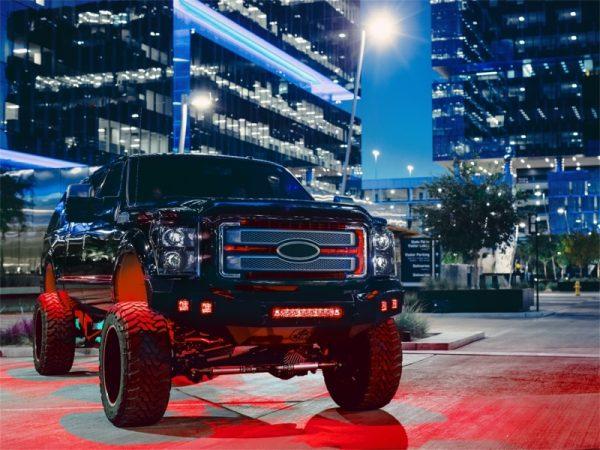 Rigid 20202 Industries Radiance Pod Red Backlight – Pair