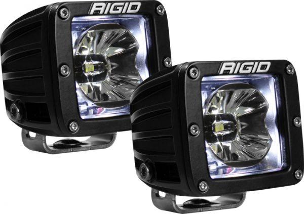 Rigid 20200 Industries Radiance Pod White Backlight – Pair
