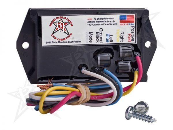 Rigid 40312 Industries 3 Amp LED Flasher – 2 Output – 12 Volt
